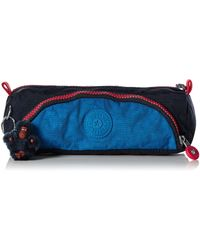 Kipling Medium Pen Case - Blue Orange Bl