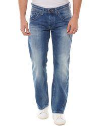 Pepe Jeans JEANIUS PM200016 T-shirt - Bleu