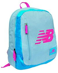 New Balance Royal Casual Daypack, 42 Cm, 20 Liters, Grey (grigio/rosa) - Gray