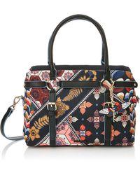 Desigual Bols_san Marino Retro Fresh. 2000. U Top Handle Handbag - Multicolour
