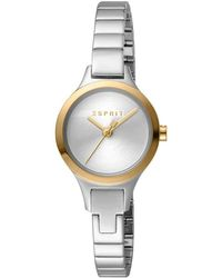 Esprit ES1L055M0045 Petite Silver Gold TT Damenuhr - Metallizzato