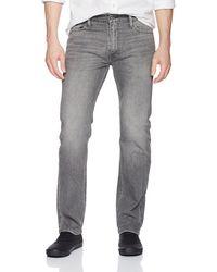 Levi's 513 Slim Straight Jean - Gray
