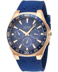 Guess Atlantic Blue Dial Watch W1171g4