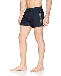 DIESEL Bmbx-sandy 2.017 Swim Short - Blue