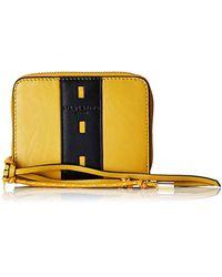 Liebeskind Berlin Geldbörse »DV Conny Wallet PF9«, aus echtem Leder im praktischem Format - Gelb