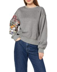 G-Star RAW Graphic 2 Loose Sweatshirt - Grau
