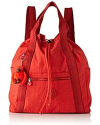 Kipling Art Backpack M - Zaini Donna - Rosso