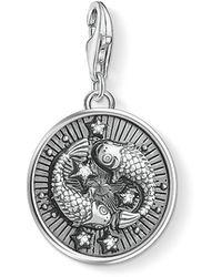 Thomas Sabo - S s-Charm-Pendentif Signe Zodiacal Poisson Charm Club Argent Sterling 925 1639-643-21 - Lyst