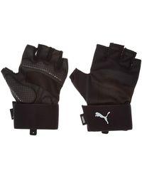 PUMA Training Essential Premium Gloves Black-gray Violet M