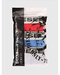 DIESEL UGOV Three-Pack Boxers Intimo Ragazzo - Multicolore