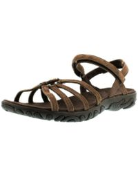 a5abca176164 Teva - Kayenta Suede Sports And Outdoor Lifestyle Sandal - Lyst