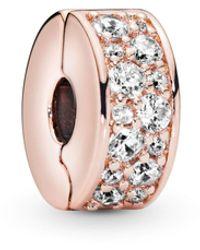 PANDORA Plaqué or Charms et perles - 781817CZ - Rose