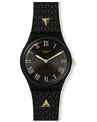 Swatch Damenuhr Lancelot GB324 - Schwarz