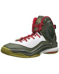 super popular cb78a aed81 adidas - D Rose 5 Boost Basketball Shoes Size 10.5 - Lyst