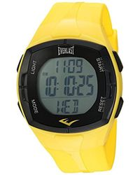 Everlast - Hr2 Heart Rate Monitor Watch With Chest Strap Transmitter - Lyst