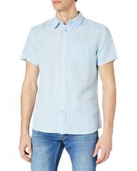 Wrangler One Pocket Shirt Camicia - Blu