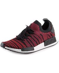 Adidas Originals NMD R1 Primeknit Unisex Core BlackRed
