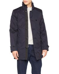G-Star RAW Garber Padded Trench tel - Blau
