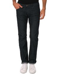 DIESEL Darron Pantalon Jeans Regular Slim Tapered Bleu Fonce T:28/32