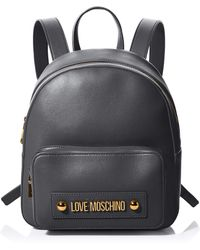 Love Moschino Jc4028pp1a 's Backpack Handbag - Black