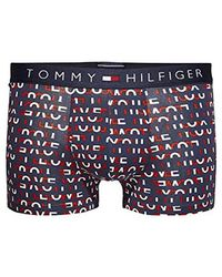 Tommy Hilfiger - Micro Amour Impression Boxer Tronc, Rouge - Lyst