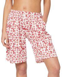 CALIDA Favourites Trend 3 Pantaloni Pigiama - Rosso