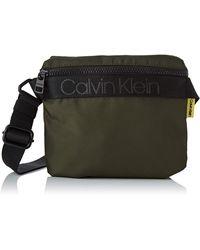 Calvin Klein NASTRO Logo Mini Reporter - Verde