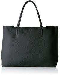 Ecco Jilin Shopper Shoulder Handbag - Black