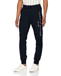 Tommy Hilfiger Basic Sweatpants Sweat-Shirt de Sport - Bleu