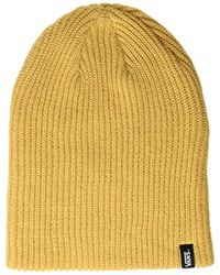 f6d42ad053c Vans Milford Beanie in Green for Men - Lyst