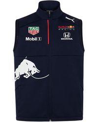PUMA Red Bull Racing Official Teamline Vest - Blue