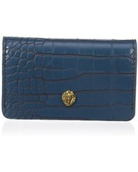 Anne Klein Small Card Case - Blue