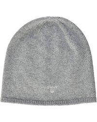 GANT - Solid Beanie S Hat - Lyst