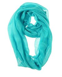 CALVIN KLEIN 205W39NYC - Crepe Infinity Scarf - Lyst
