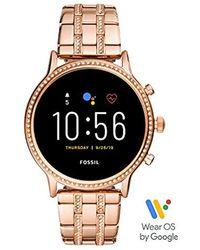 Fossil Smartwatch Gen5 da Donna - Metallizzato