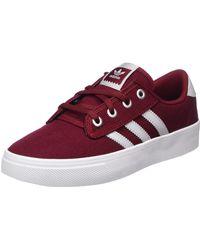 adidas Kiel, Chaussures de Gymnastique Mixte, Multicolore - Rouge