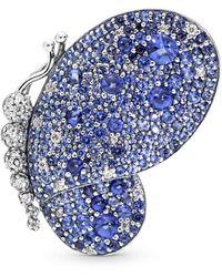PANDORA Spilla Donna Argento - 697996NCB - Blu