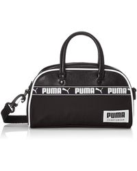 PUMA _adult Campus Mini Grip Bag Shoulder - Black