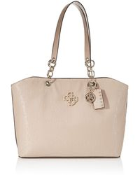 Guess - CHIC SHINE TOTE - Lyst