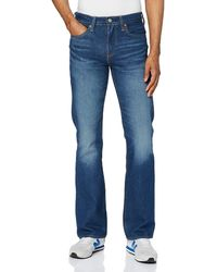 Levi's 527 Slim Boot Cut Jean Bootcut - Bleu