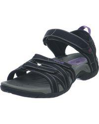 Teva Tirra Sports And Outdoor Lifestyle Sandal - Black
