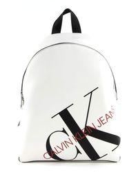 Calvin Klein Round Backpack 35 Bright White - Blanc