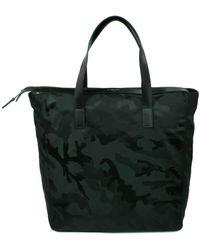 Michael Kors Travel Bag S Kent Nylon Camouflage - Black