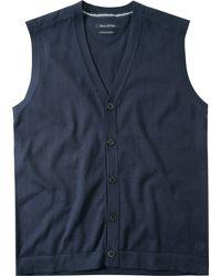 Marc O'polo 620500261246 Waistcoat - Blue