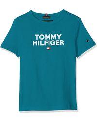 Tommy Hilfiger - Logo tee S/s Camiseta - Lyst