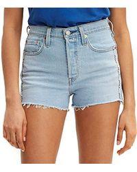 Levi's 501 High Rise Short Pantaloncini Donna - Blu