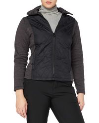 Regatta - Zuzela Padded Body Panels Insulated Lined Full Zip Fleece Sweater - Lyst