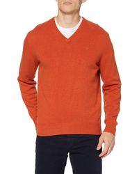 Pepe Jeans Honeycomb Stitch Crew Felpa - Arancione