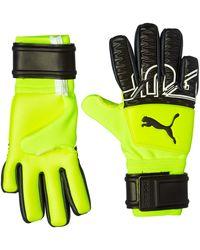 PUMA Future Z Grip 3 Negative Cut Goalkeeper Gloves Yellow Alert-black-white 6