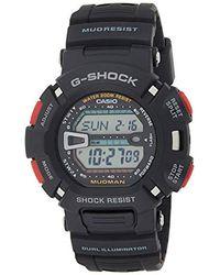 G-Shock Orologio Digitale al Quarzo Uomo con Cinturino in Resina G-9000-1VER - Nero
